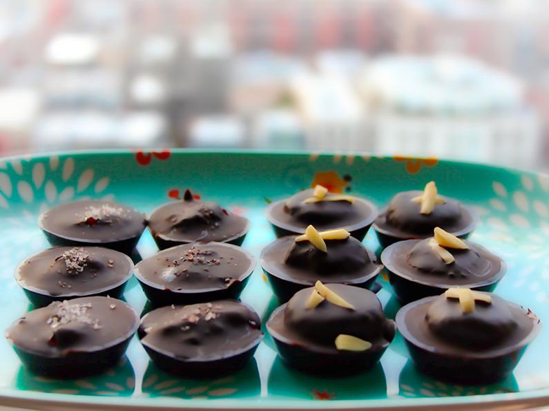 A Dose of Gratitude: Lingonberry and Tahini-Almond Chocolate Recipe